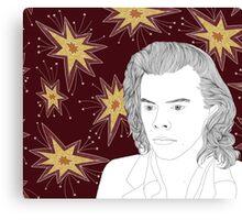 Starburst Harry  Canvas Print