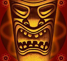 Atomic Tiki Logo by Mike Cressy