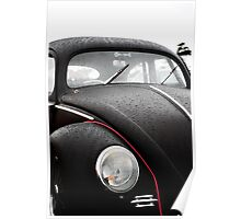 The Wet VW Beetle Poster