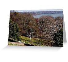 The Potomac from George & Martha's Place Greeting Card