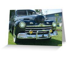 Original 1946 Ford Greeting Card