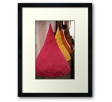 Spice Souq Framed Print