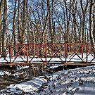 Little Red Bridge by Eric Scott Birdwhistell