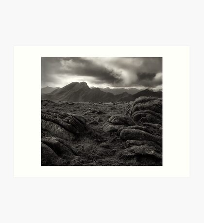 The Black Cuillin #2 Art Print