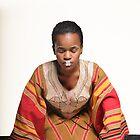 African Geisha by Roshan
