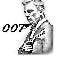 James Bond Daniel Craig 007 by SpiderReviewer