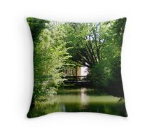 A Different Side To Dachau Throw Pillow