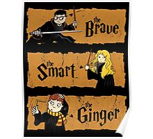 The Brave, the Smart, the Ginger Poster