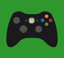 Xbox 360 Controller Black by Fardan Munshi