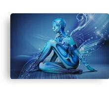 ALIEN GRACE Canvas Print