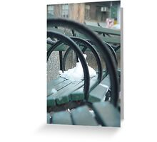 washington square rings Greeting Card