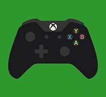 Xbox One Controller Black by Fardan Munshi