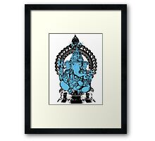 Lord Ganesha Hindu Elephant headed God Framed Print