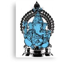 Lord Ganesha Hindu Elephant headed God Canvas Print