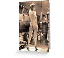 Workshop Wench Greeting Card