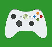 Xbox 360 Controller White by Fardan Munshi