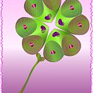 Love luck shamrock by aleksandra15