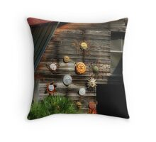 Summer Suns Set Throw Pillow