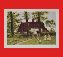 Kate Greenaway Collection 1905 0399 A Surrey Cottage Kids Tee