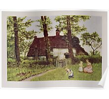 Kate Greenaway Collection 1905 0399 A Surrey Cottage Poster