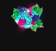 Water Color Splash Rose T-Shirt