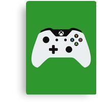 Xbox One Controller White Canvas Print