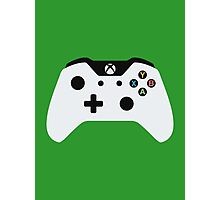 Xbox One Controller White Photographic Print
