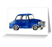 Crazy for Cars Greeting Card