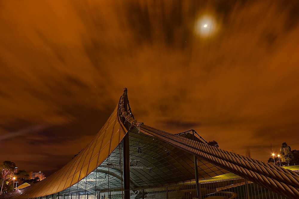 Sidney Myer Music Bowl at Night #1 by Jason Green