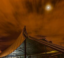 Sidney Myer Music Bowl at Night #1 by Jason Green