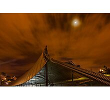 Sidney Myer Music Bowl at Night #1 Photographic Print