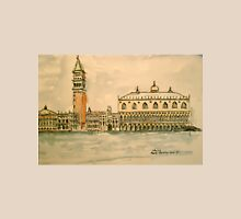 St Mark's Venice, Italy. 2010 Pen and wash.  Unisex T-Shirt