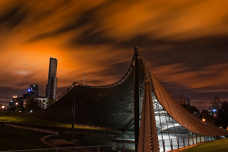 Sidney Myer Music Bowl at Night #2 by Jason Green