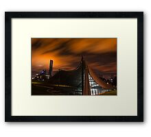 Sidney Myer Music Bowl at Night #2 Framed Print