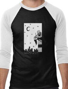Robot Attack! Men's Baseball ¾ T-Shirt