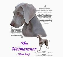 The Weimaraner (short haired) Womens Fitted T-Shirt