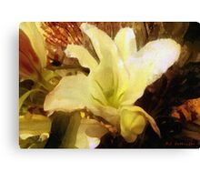 Lily for Gustav Canvas Print