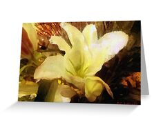 Lily for Gustav Greeting Card