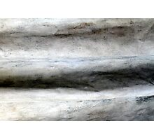 Cement Wrinkles Photographic Print