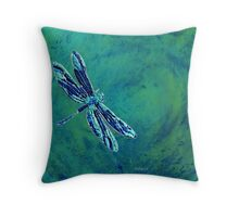 sd Dragonfly 1G Throw Pillow