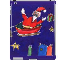 Crazy Santa iPad Case/Skin