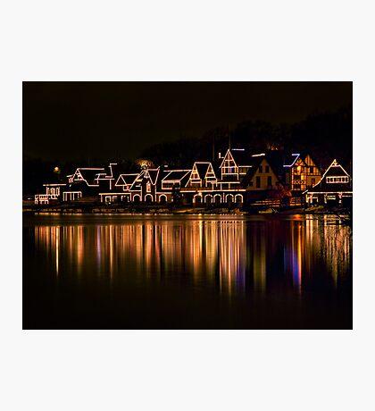 Boathouse Row Photographic Print