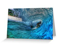 Banzai Pipeline HDR I Greeting Card