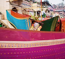 Fragments of Richness: An Indian Expose - vibrancy (saris) by fenjay