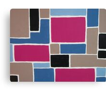 Color Blocking Canvas Print