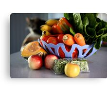 All Things Healthy Canvas Print