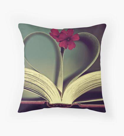 Jane Austen. Throw Pillow