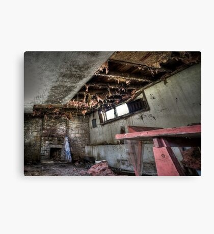Decayed And Dismayed Canvas Print