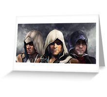 assassins Greeting Card