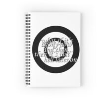 Agony & Hell Spiral Notebook